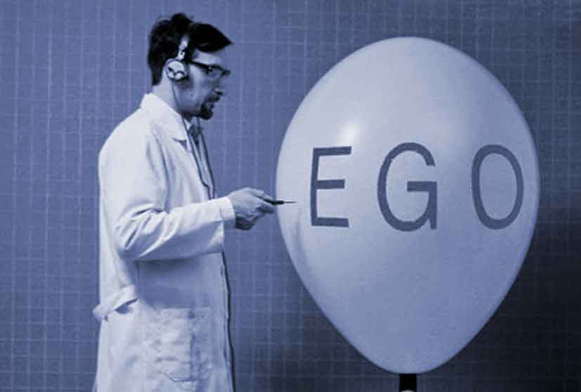 Three points Ryan Holiday explores that I found personally relevant for help overcoming ego