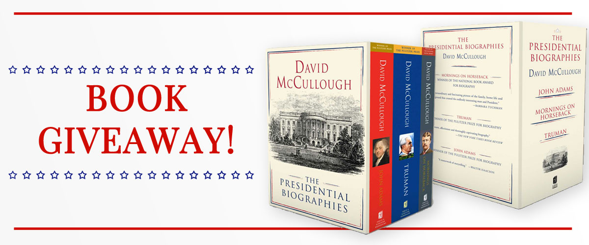 Book Giveway of The Presidential Biographies