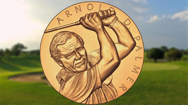 Arnold Palmer's Gold Medal of Honor is One Earned of Values