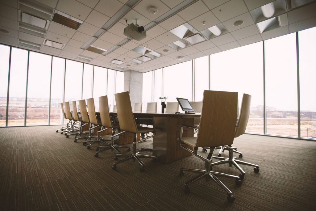 Build a corporate board and communicate with transparency