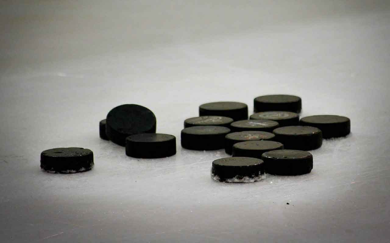 Imagine each puck on the ice represented your team members: how would you genuinely thank them?