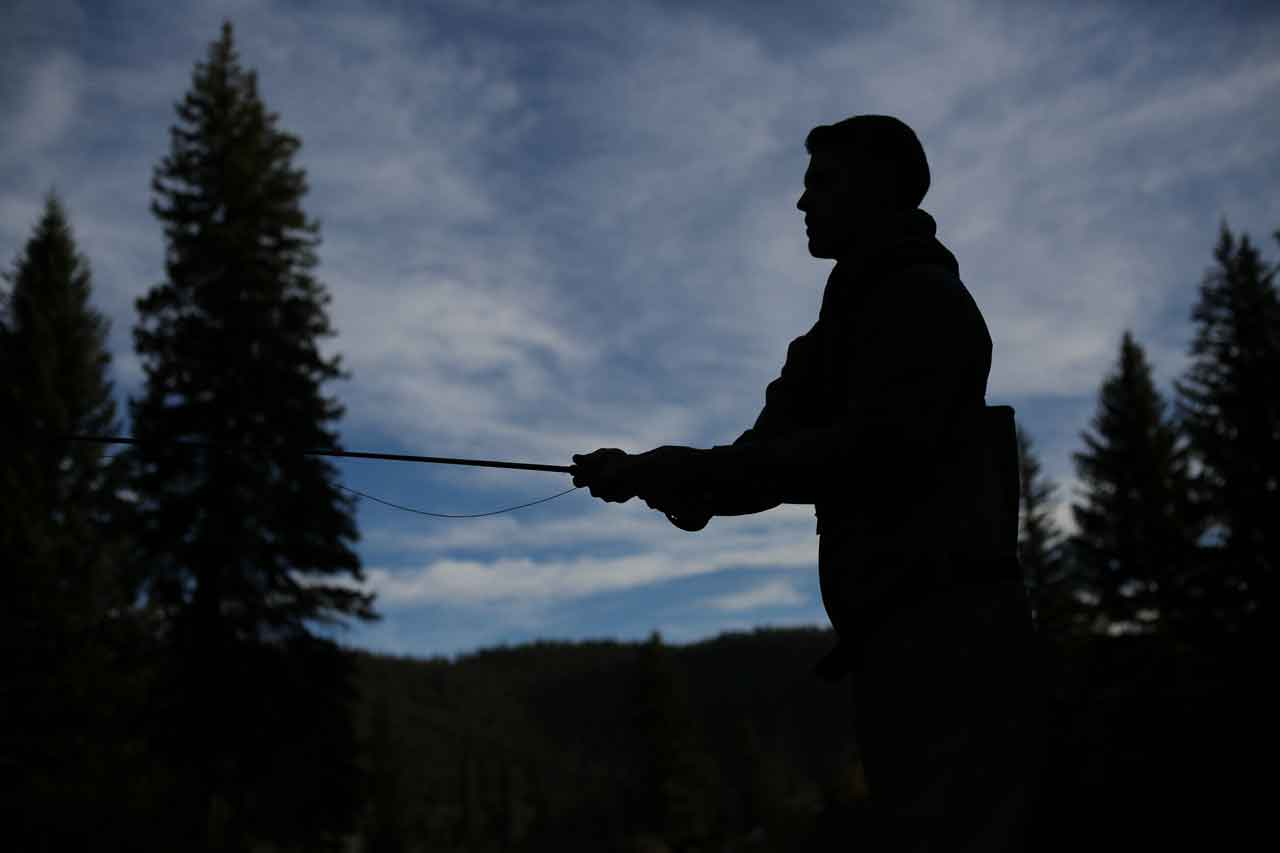 Fly fishing and leadership lessons for the amateur