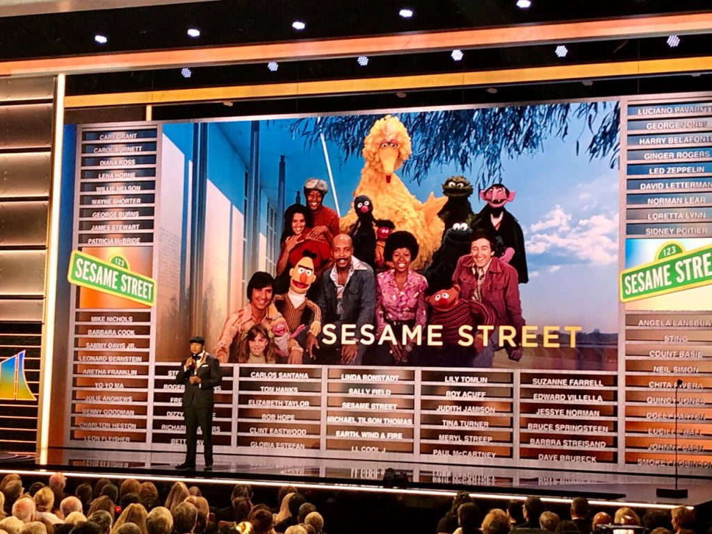 Sesame Street honored on stage at the Kennedy Center Honors